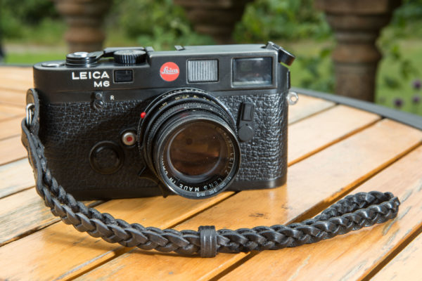 Braided Camera wrist strap made by classic cases