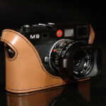 Leica M9 Camera Case tan leather