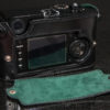 Leica M9 Camera Case, Green lining with removable back