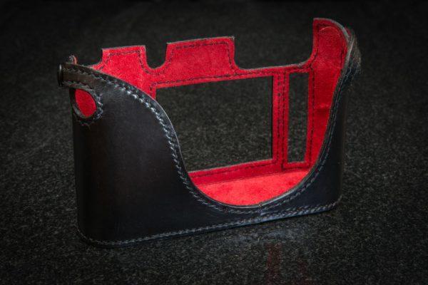 Leica Q Camera Case Black leather