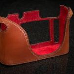 Leica Q Camera Case Brich brown leather