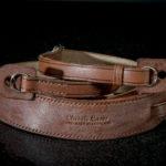 Brown Leather Camera Neck Strap