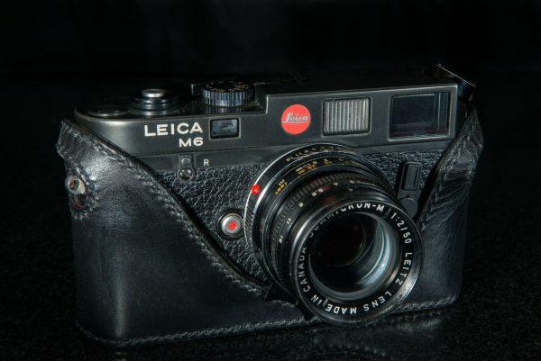 Leica M6/ M7 Camera case black leather classic cases