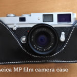Leica MP Camera Case and white Stitching