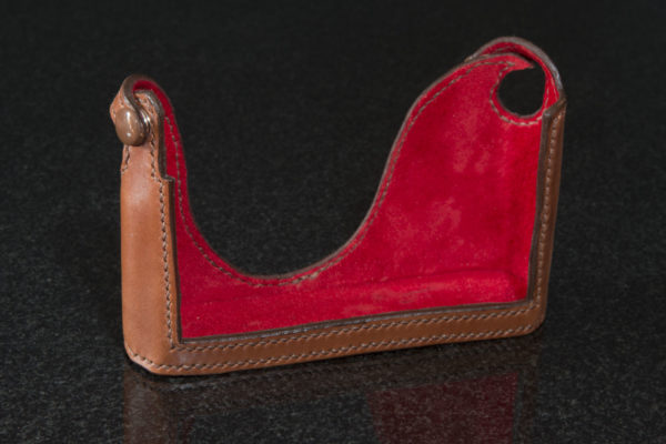 Leica Q2 Rich Brown Leather camera Case